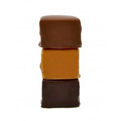 Guimauve vanille lait noir zéphyr Chocolat Gaucher