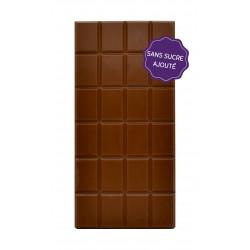 Tablette chocolat lait sans sucre maison Gaucher