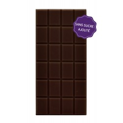 Tablette chocolat noir sans sucre Maison Gaucher