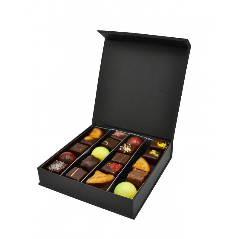 Boîte prestige remplis de bonbons chocolats - 170g - Maison Gaucher