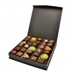 Boîte prestige remplis de bonbons chocolats - 260g - Maison Gaucher
