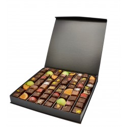 Boîte prestige remplis de bonbons chocolats - 620g - Maison Gaucher