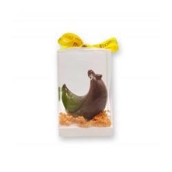 Coffret Poule design chocolat lait - packaging - Maison Gaucher Chocolatier