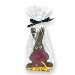 Lapin chocolat noir - Packaging - Maison Gaucher Chocolatier
