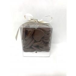 Cube cœurs chocolat lait 250g