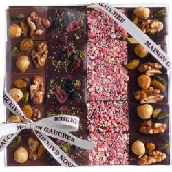 Coffret mini tablette Chocolat Gaucher