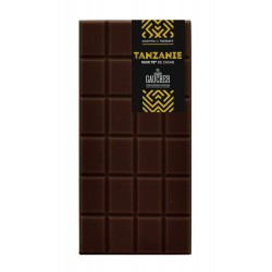 Tablette de chocolat origine Tanzanie 75%