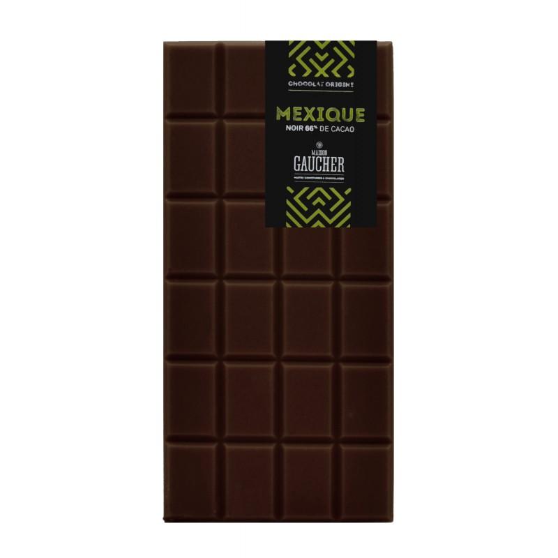 Tablette chocolat mexique 66% de cacao