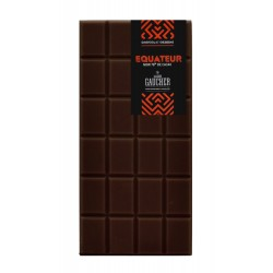 Tablette chocolat origine Equateur 76% de cacao