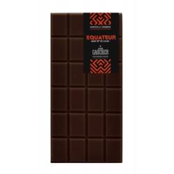 Tablette chocolat origine Equateur 76% de cacao