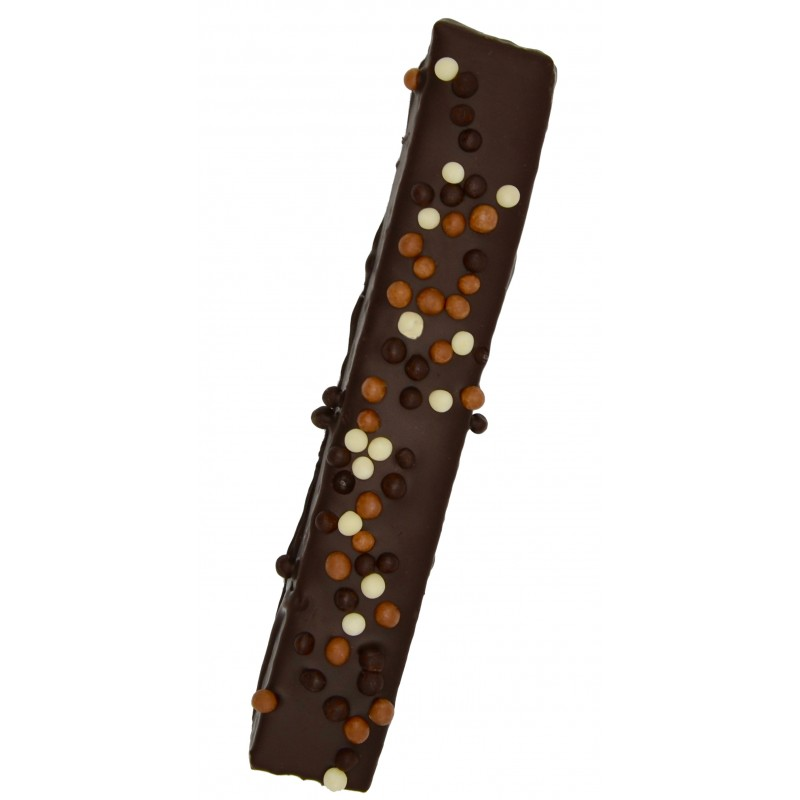 Bâton Guimauve vanille noir chocolat gaucher